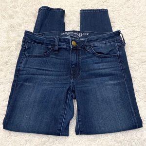 American Eagle Jegging Jeans 8 Short